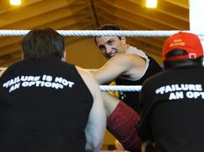 Фотогалерея: Кличко готується до бою з Чагаєвим