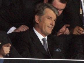 Ющенко відвідає матч Україна-Казахстан