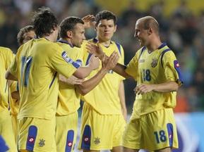 Букмекеры: Украина - фаворит в матче с Казахстаном