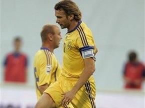 Шевченко пропустит матч с Казахстаном