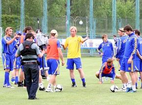 Фотогалерея: Украина готовится к матчу с хорватами