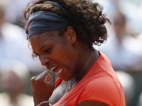 Roland Garros: Серена Вільямс проходить до чвертьфіналу