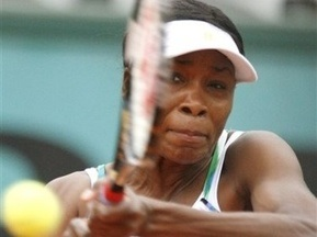 Roland Garros: Винус Уильямс с трудом справилась с Люси Шафаровой