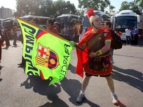 Уболівальники Барселони їхали на фінал ЛЧ зі списами і палицями