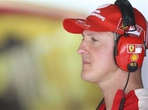 Шумахер пока не готов к гонкам