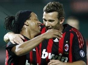Шевченко помог Милану одолеть сборную Албании