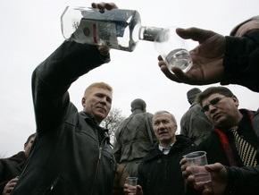 Корреспондент пише, що українці переходять на дешеву горілку