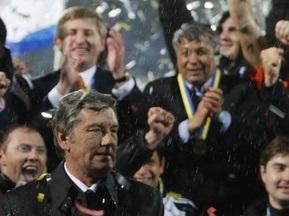 Ющенко поздравил Шахтер с победой