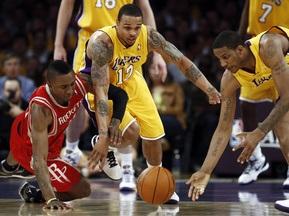 NBA: Рокетс перемагають у Лос-Анджелесі