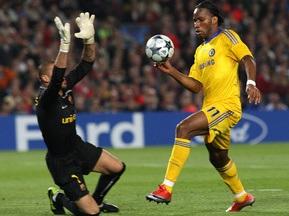 Фотогалерея: Барселона - Челси: Никто не хотел рисковать