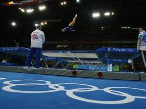 Украинцы завоевали три серебра на первом этапе Кубка мира по прыжкам на батуте