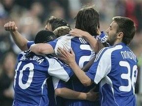 Букмекеры считают Динамо аутсайдером Кубка УЕФА