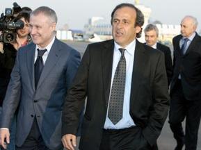 Мишель Платини прибыл в Украину