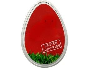 Ощадбанк предлагает монету в форме пасхального яйца