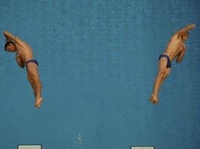 Прыжки в воду: Украинцы берут золото