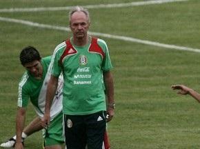 Эрикссон уволен с поста главного тренера сборной Мексики