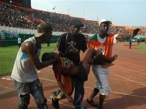 Во время матча Кот-д Ивуара и Малави погибли 22 человека