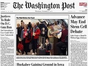 The Washington Post уволит до тысячи человек