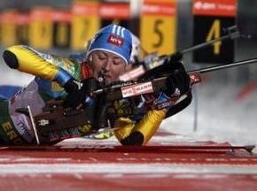 Биатлон: Украинка финиширует третьей на этапе Кубка Мира