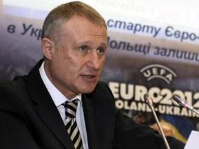 Суркіс: Євро-2012 стало візитною карткою України
