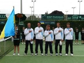 Состоялась жеребьевка на матч Кубка Дэвиса Украина-Великобритания