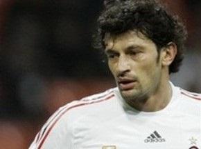 Каладзе выбыл до конца сезона