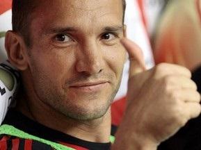 Шевченко: Надеюсь сыграть против Вердера в Кубке УЕФА