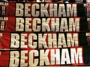Милан торгуется за Бекхэма с Лос-Анджелес Гэлакси