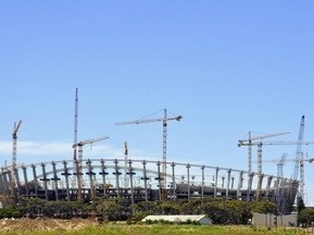 ЧС-2010: У ПАР звільнили сотні будівельників стадіону
