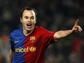 Барселона потеряла Иньесту