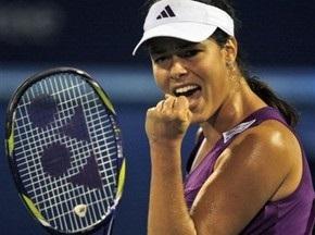 Иванович выходит в четвертьфинал турнира в Дубае