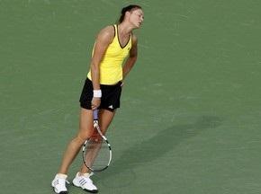 Сафіна програла 58-ій ракетці світу з Франції