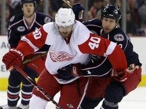 NHL: Коламбус одолел Детройт