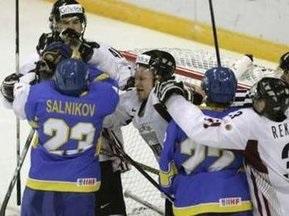 Хоккей: Украина проиграла Латвии