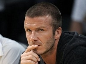 Мілан не включить Бекхема в заявку на Кубок УЄФА