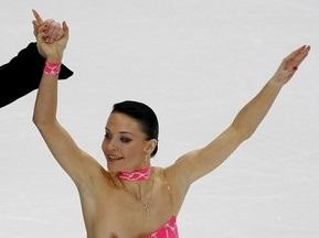 Російська фігуристка розповіла про обірвану бретель сукні