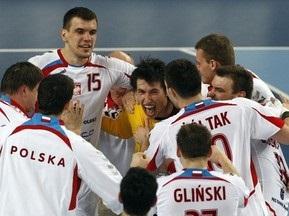 Российские гандболисты уступили сборной Польши