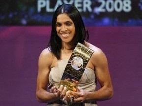 Бразилійка Марта - найкраща футболістка світу