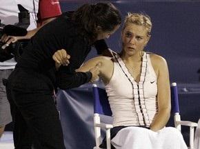 Шараповой не будет на Australian Open