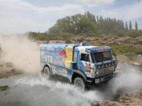 Дакар-2009: Чагин обошел Кабирова на 6-м этапе