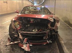 Кріштіано Роналдо потрапив у аварію