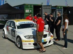 Dubai Autodrome: Проба трассы