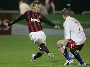 Бекхэм дебютировал в Милане
