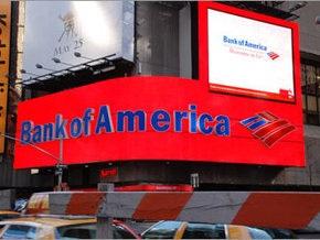 Bank of America начинет массовое сокращение персонала