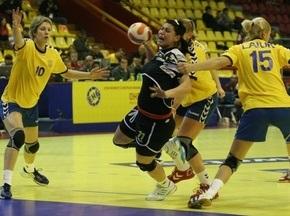 Чемпионат Европы по гандболу: Украинки проигрывают румынкам