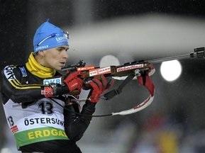 Биатлон: Украинское трио попало в десятку лучших в Остерсунде
