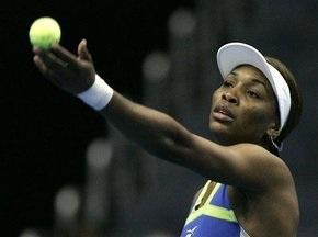 Венус Уильямс - теннисистка с самой сильной подачей
