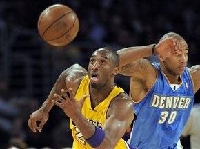 NBA: Лейкерс дали бой Денверу