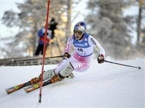 Ліндсей Вонн виграла етап Кубка світу з гірськолижного спорту