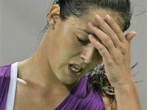 Ана Иванович снялась с турнира в Дохе